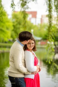 engagement in love at boston commons