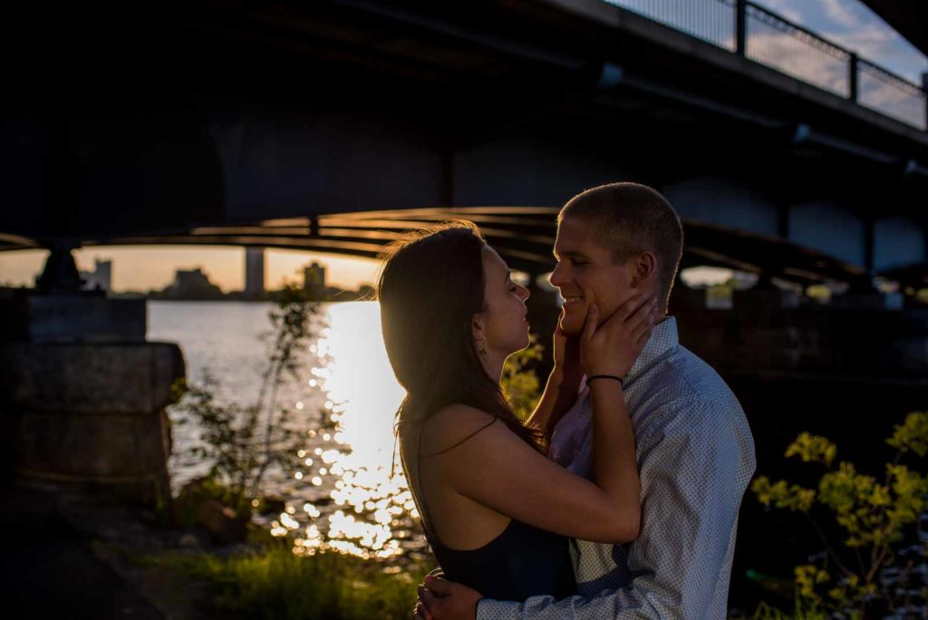 engagement session photography in Boston