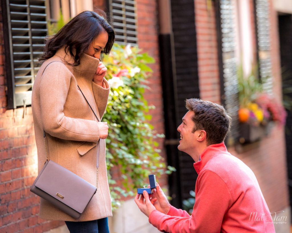 he is proposing to her