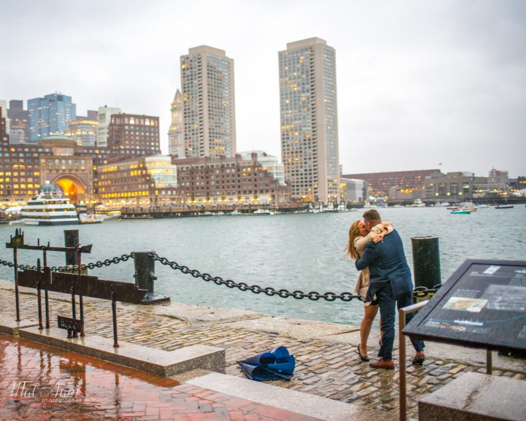 She said yes at seaport